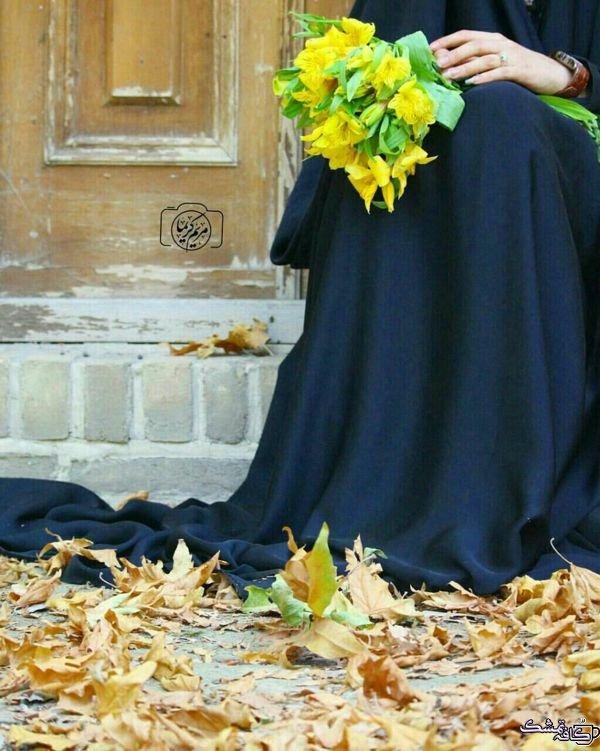 عکس فانتزی دختر چادری برای پروفایل