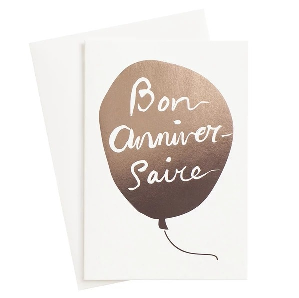متن تبریک تولد به زبان فرانسوی