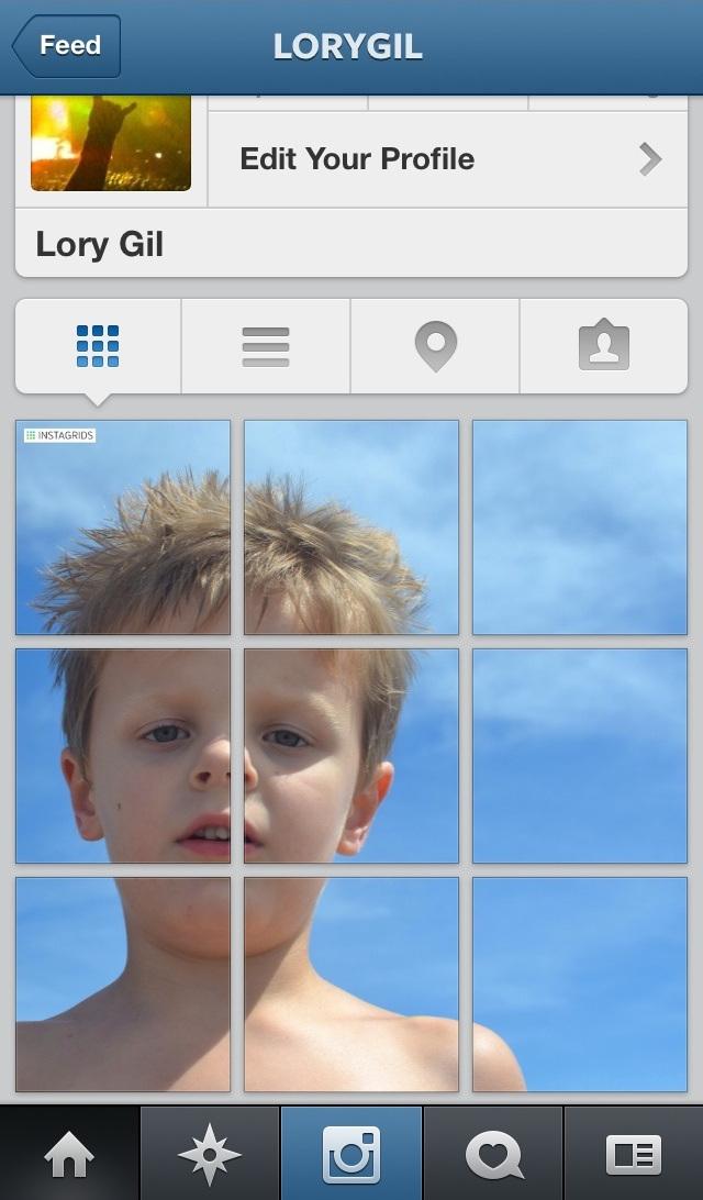 آموزش گذاشتن عکس پازلی در اینستاگرام (2)