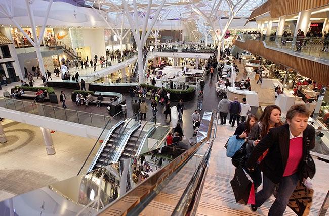بزرگترین مراکز خرید لندن
