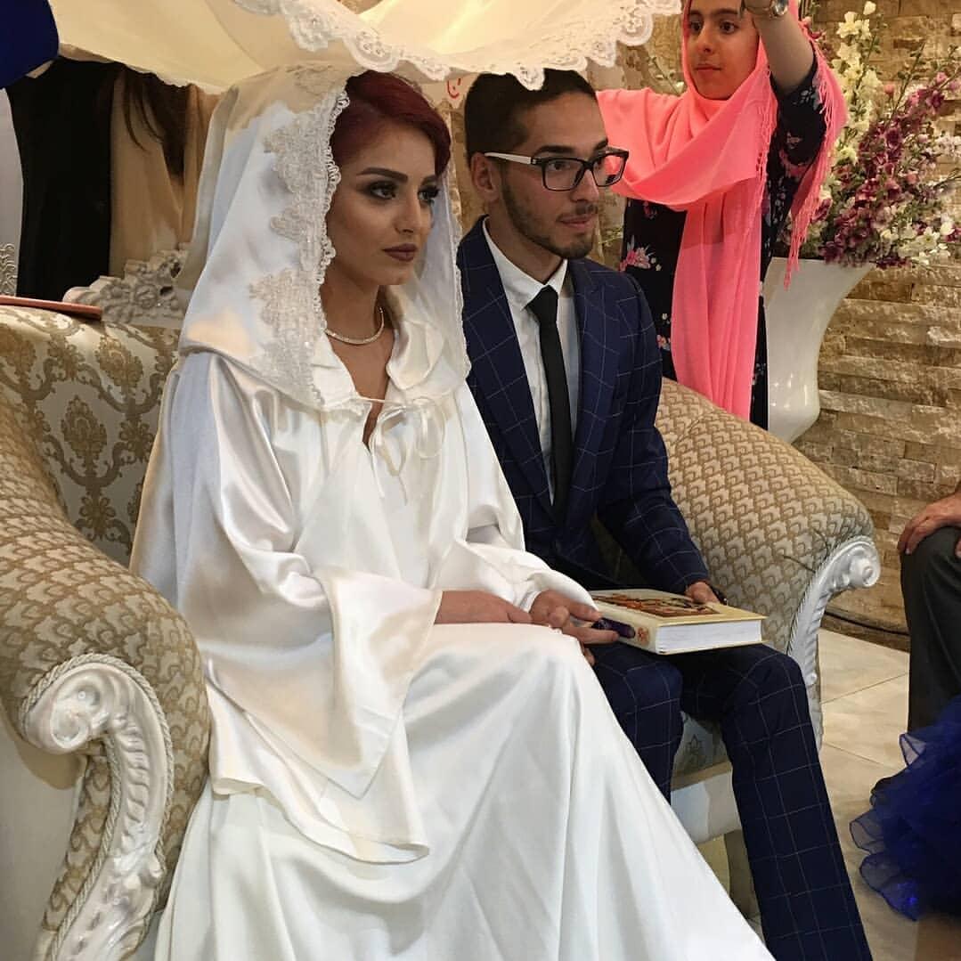 عکس عروسی دلارام خسروانی