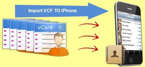 آموزش انتقال شماره تلفن ها با فرمت vcf به آیفون
