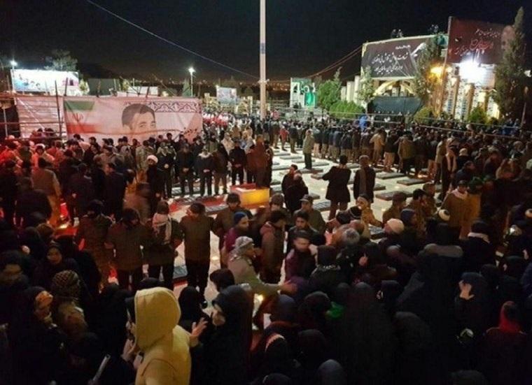 مراسم دفن سردار سلیمانی در کرمان