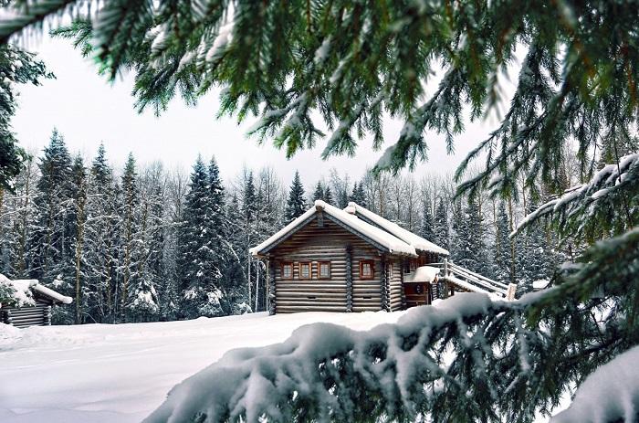 انشا درباره زمستان در روستا
