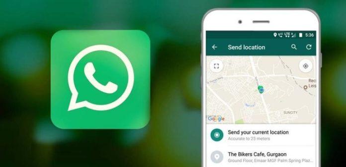 آموزش فرستادن لوکیشن در واتس اپ اندروید Android و آیفون ios