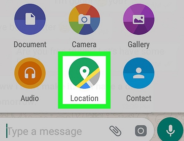 Learn to post location in Watts Android