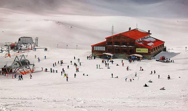 قله توچال در تهران