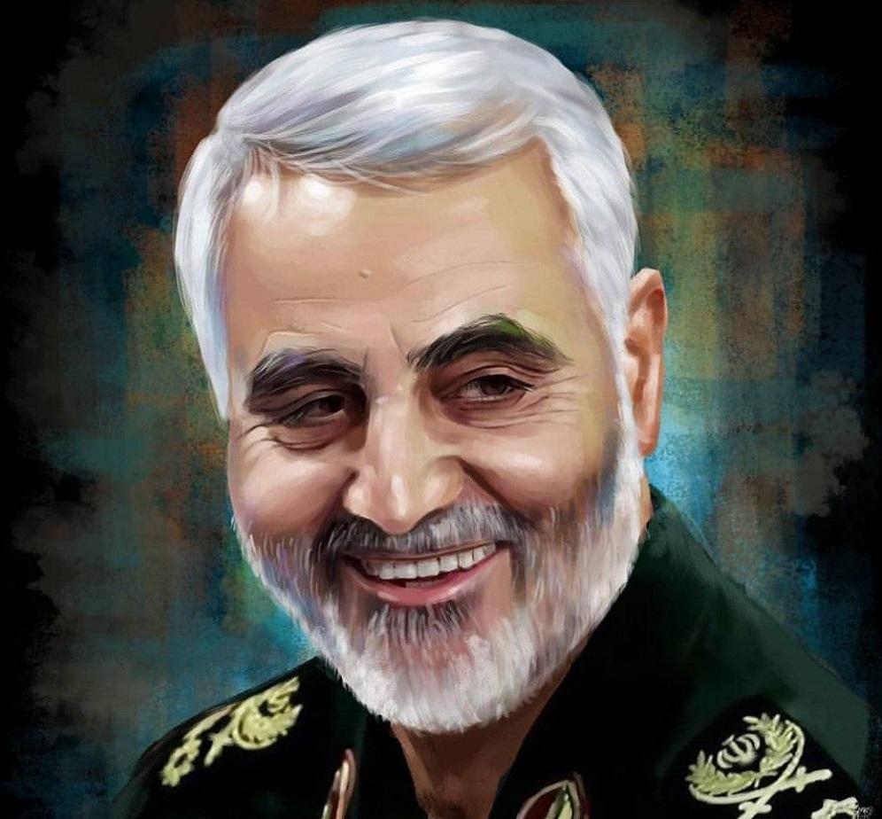 نقاشی سردار سلیمانی