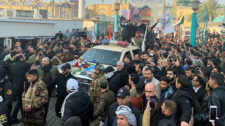 تشییع پیکر سردار سلیمانی