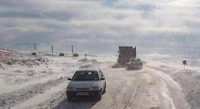 بارش برف در 11 استان کشور