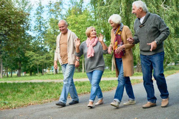 میانگین سرعت پیاده روی برای بزرگسال