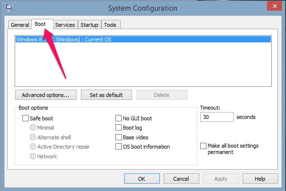 نحوه بوت کردن (راهاندازی) ویندوز [۸ ، ۱۰] در حالت ایمن (safe Mode)