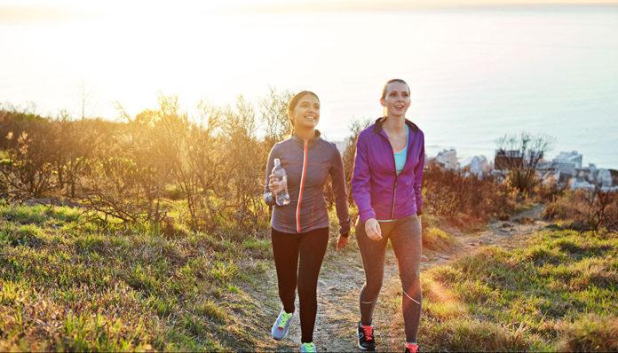 پیاده روی برای سلامتی مفید است