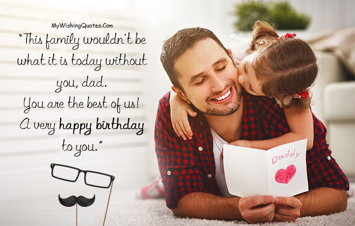 بهترین متن تبریک تولد پدر از طرف دخترش