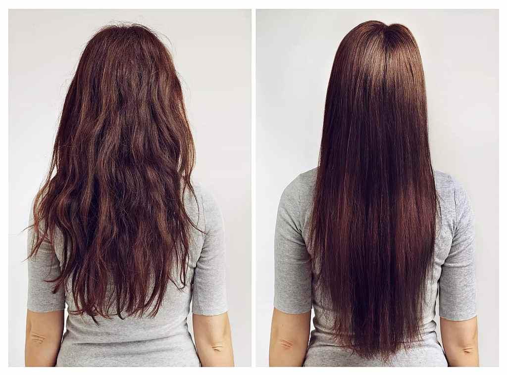 روش های خانگی برای صاف کردن موهای وز