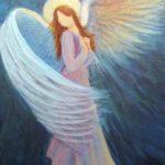 نقاشی فرشته فانتزی