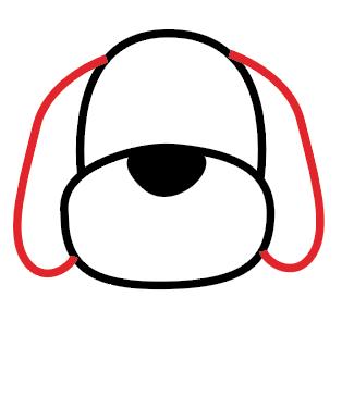 آموزش نقاشی سگ برای کودکان