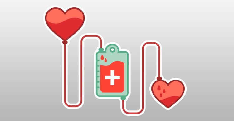 فرآیند اهدای خون