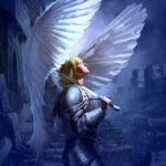 عکس زیبای فرشته بالدار