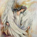 نقاشی فرشته
