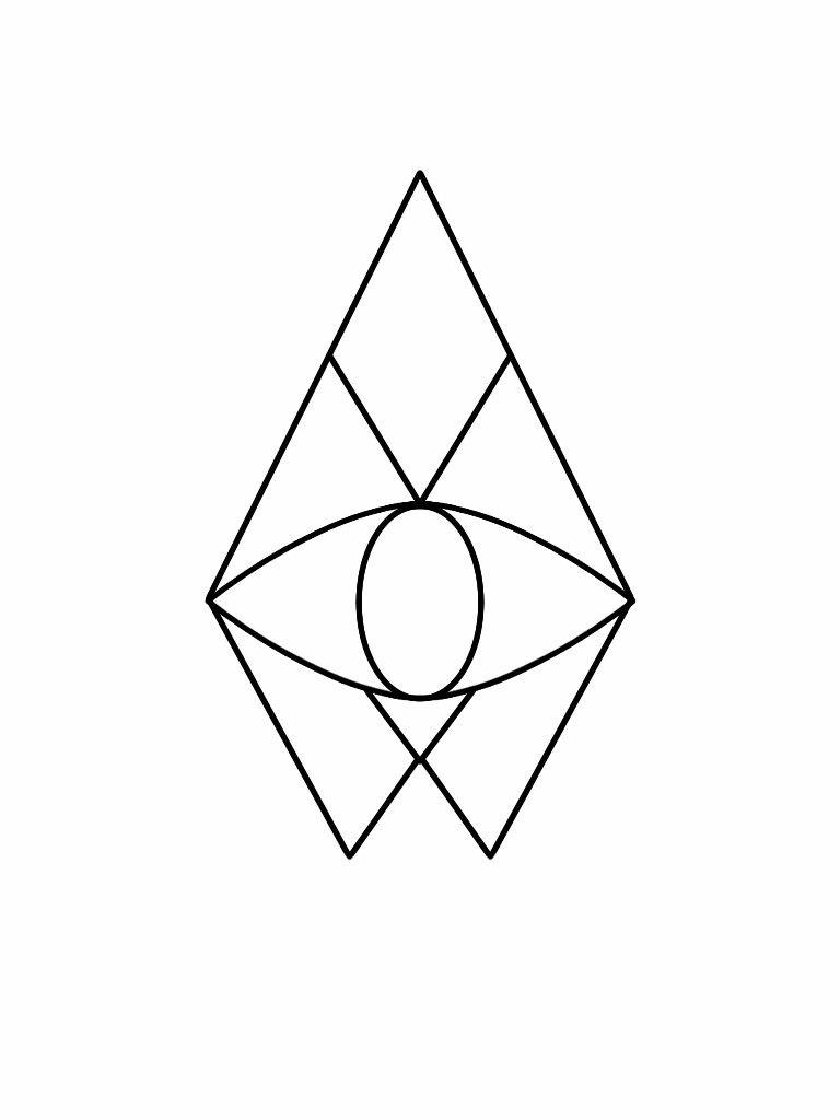 تتو چشم در مثلث