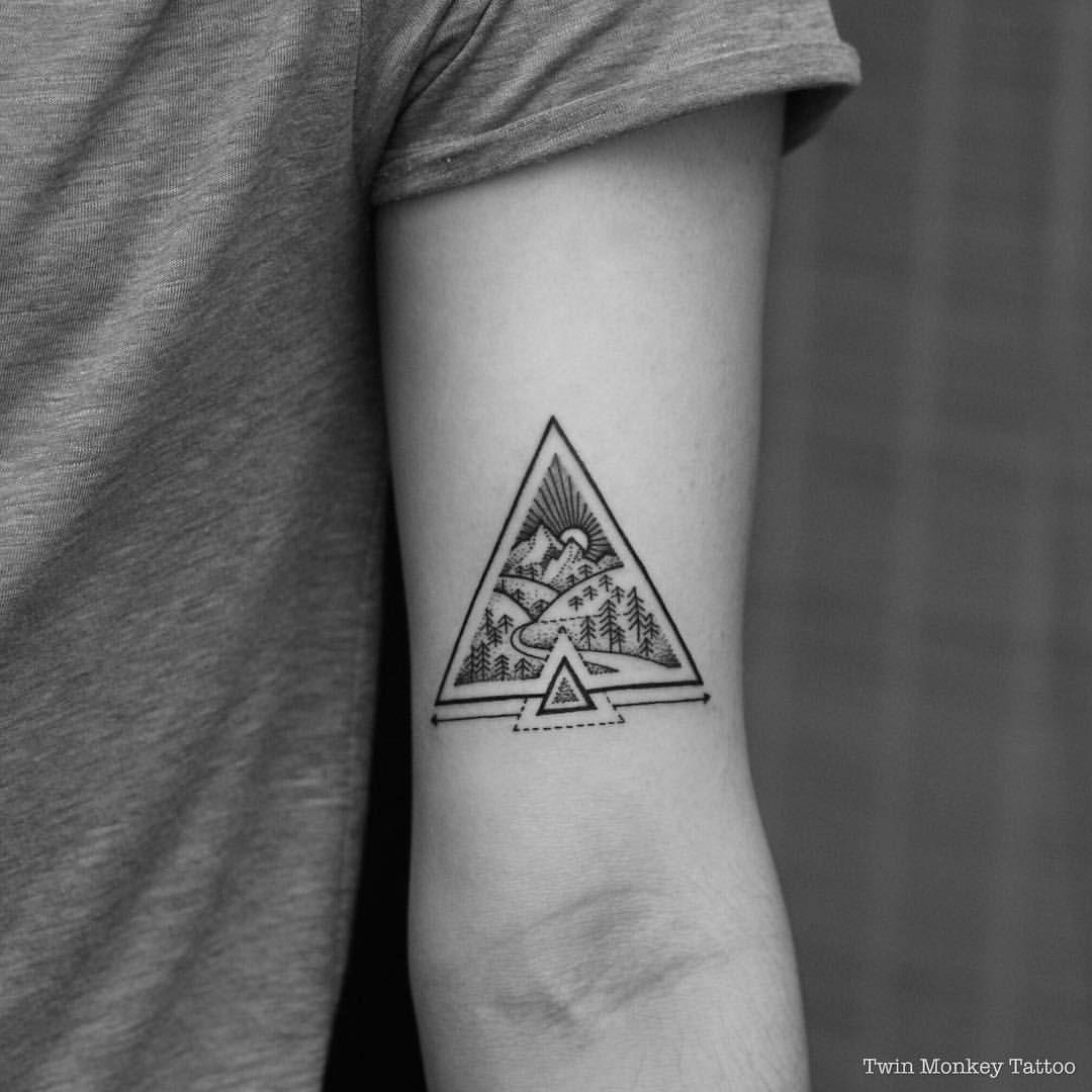 تتو مثلث