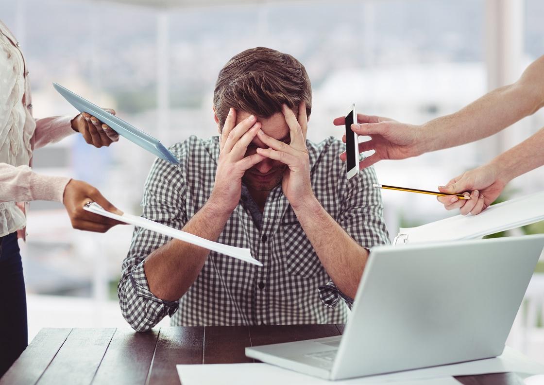 استرس و اضطراب می توانند دلیل احساس خستگی باشد
