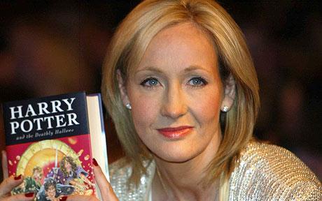 نویسنده کتاب های پرفروش هری پاتر ، خانم Rowling