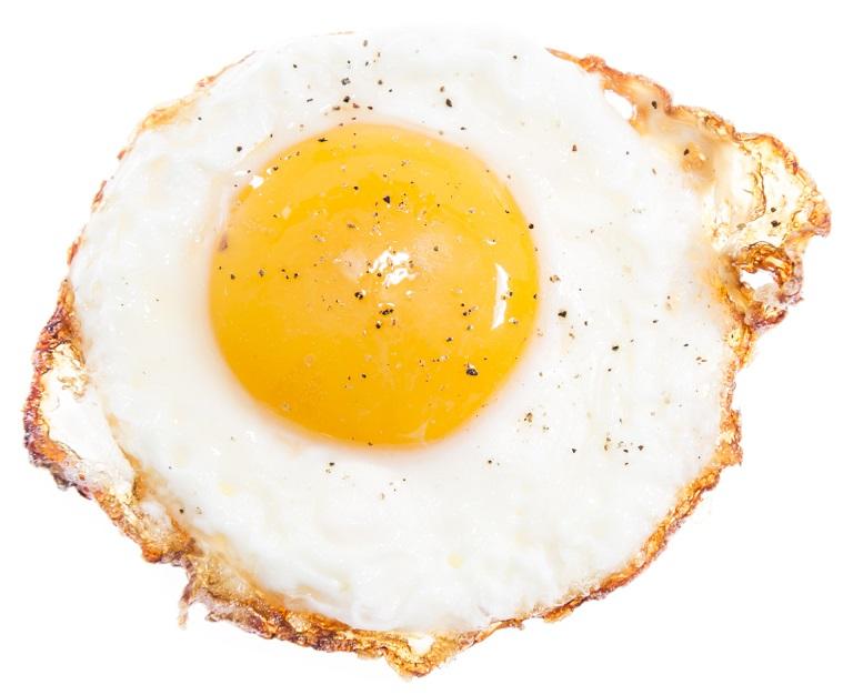 فواید مصرف تخم مرغ بر داشتن مژه های بلند و پر پشت