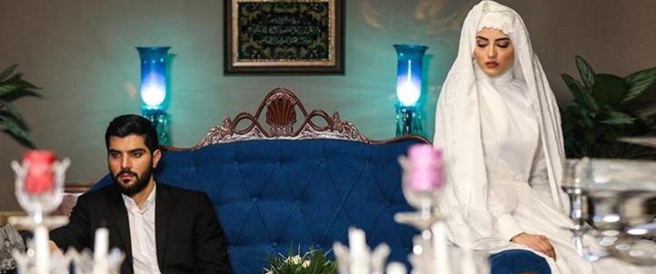 عکس پردیس پورعابدینی و سینا مهراد در سریال آقازاده