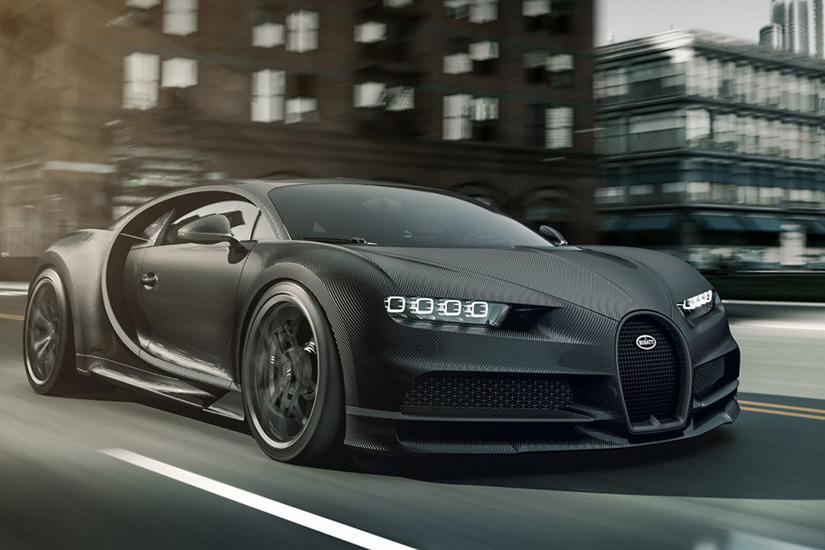 خودروی Bugatti Lavoiture Noire
