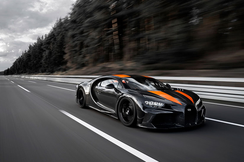 ماشین Bugatti Chironsuper sport 300