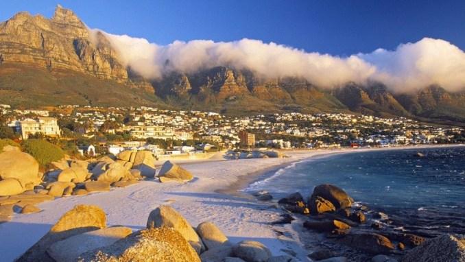 ساحل Camps در آفریقای جنوبی