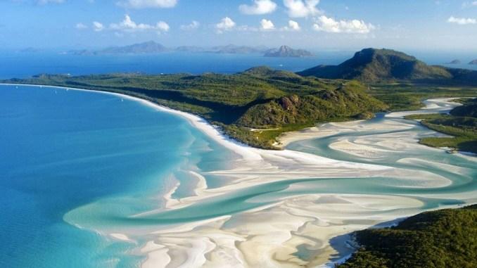 استرالیا ساحل whitehaven