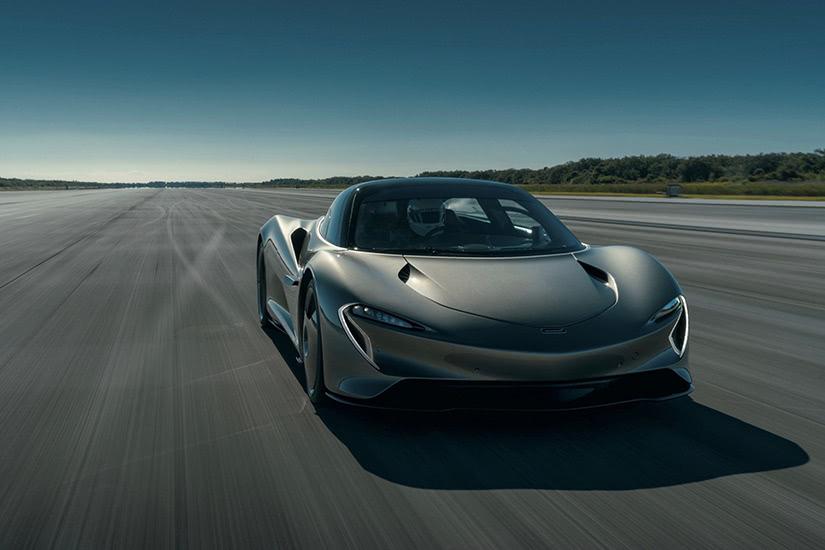 خودروی MClaren Speedtail سریع ترین ماشین دنیا