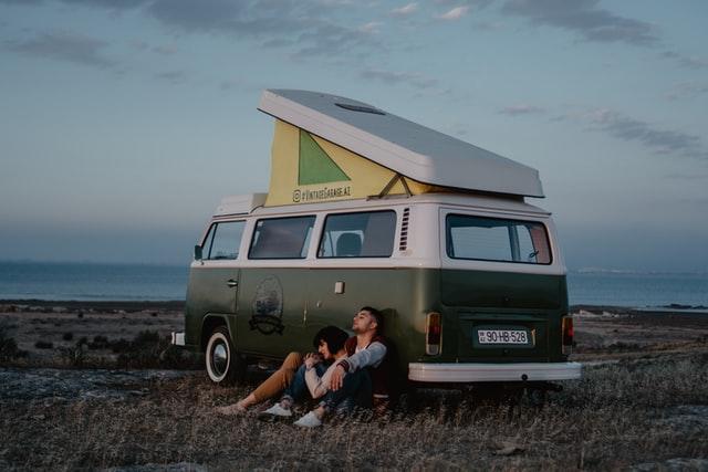 Beautiful travel camper