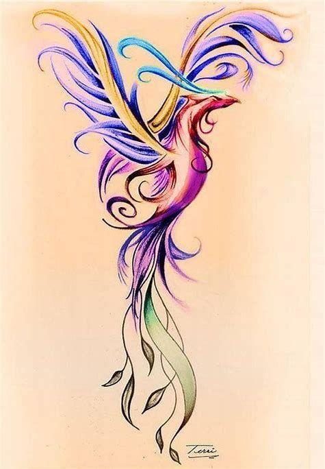 عکس زیبای ققنوس برای خالکوبی بازو