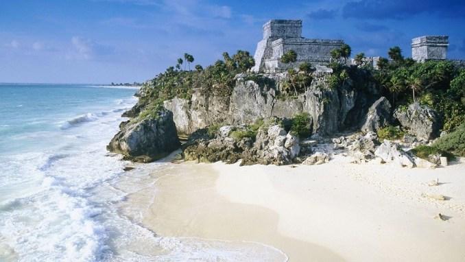ساحل Tulum در مکزیک