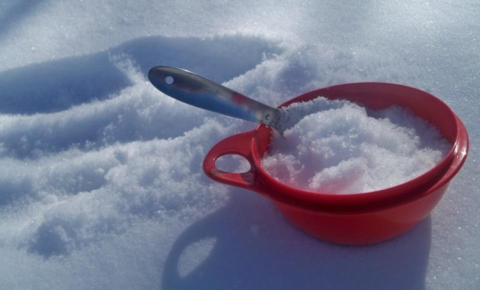 آیا می شود برف را خورد