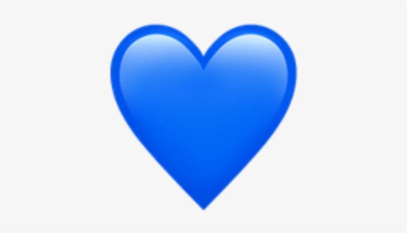 معنی ایموجی قلب آبی