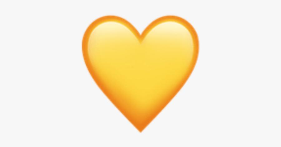 ایموجی قلب زرد