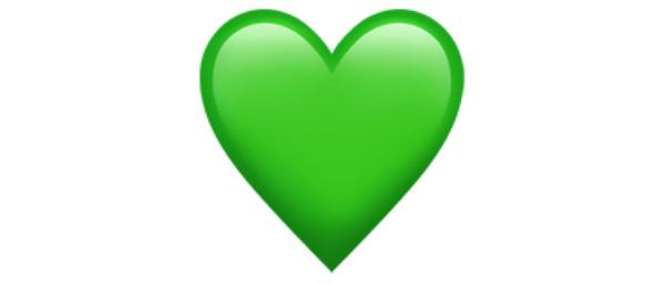 معنی ایموجی قلب سبز
