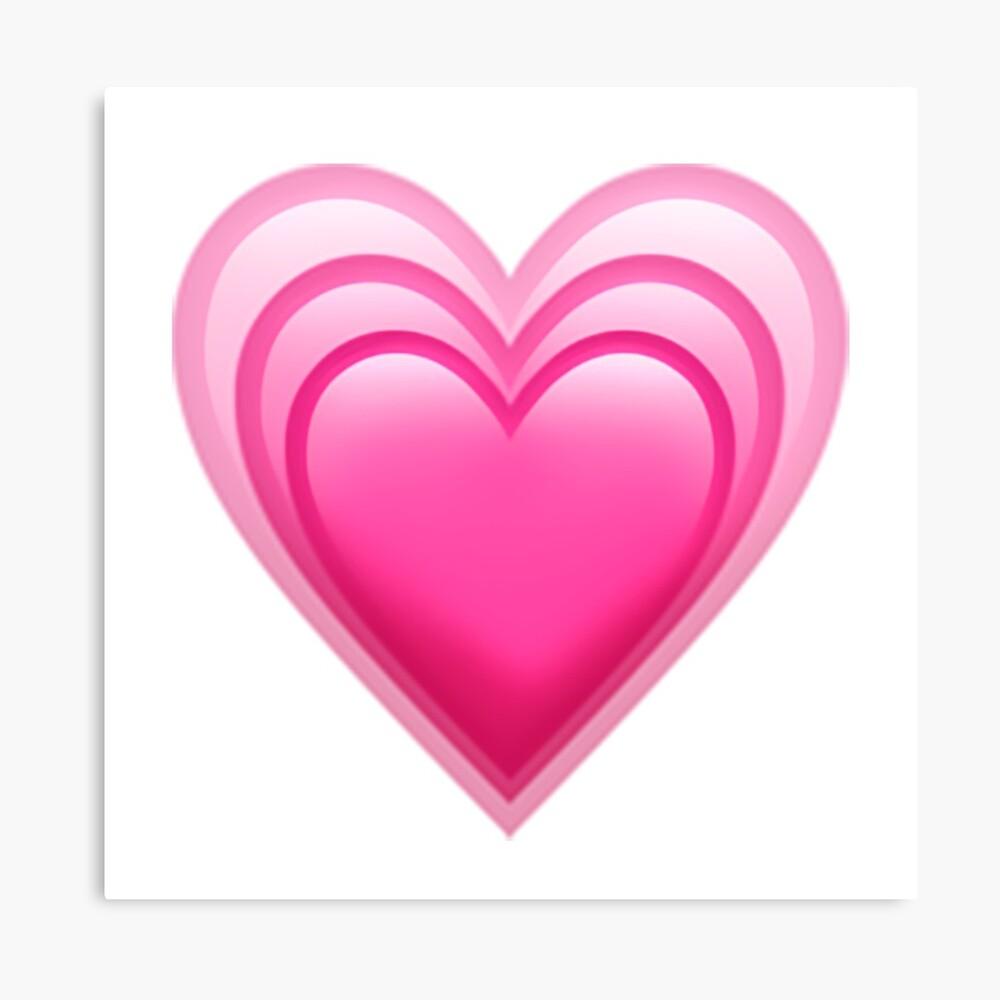 معنی ایموجی قلب صورتی در حال رشد