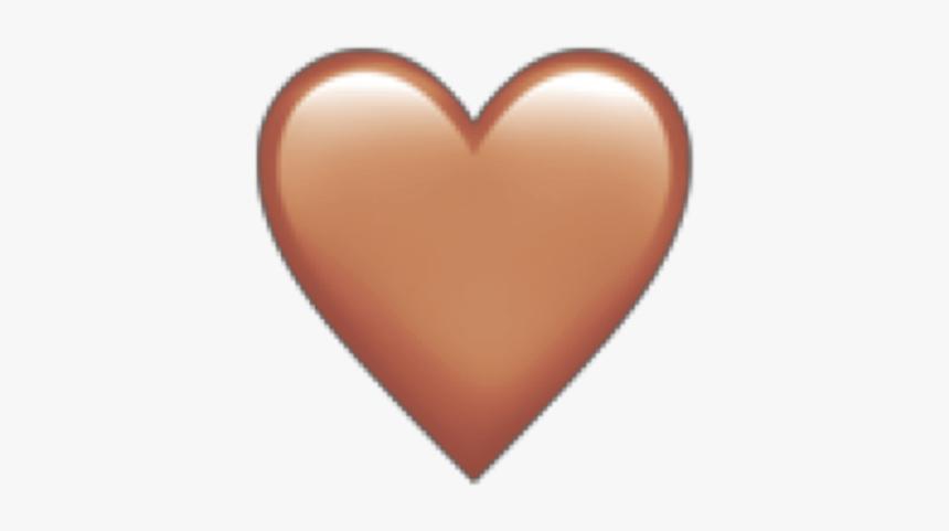 معنی ایموجی قلب قهوه ای رنگ