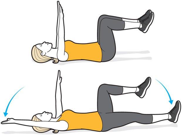 سه تمرین برای بهبود گودی کمر