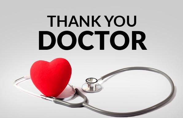 پیام تشکر از دکتر معالج