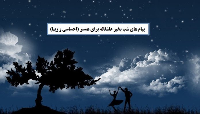 پیام های شب بخیر عاشقانه برای همسر (احساسی و زیبا)