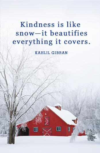 نوشته کوتاه و جملات زیبا در مورد زمستان به انگلیسی