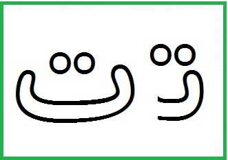 آموزش حروف الفبا ت
