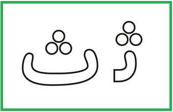 آموزش حروف الفبا ث